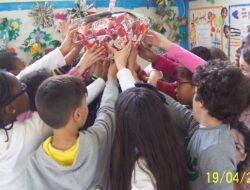 Turma  <br/>Turma que realizou a atividade no momento da colocação do morango no espaço polivalente da escola