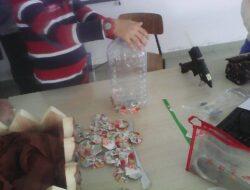Momento da construção da fruta - 2.