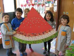 Muito orgulhosos do nosso trabalho! Que saborosa melancia...